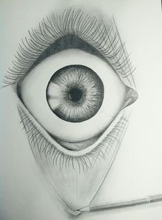 #drawing #pencil #eye