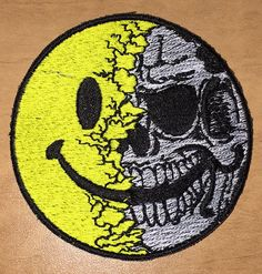 OMLpatches.com - Smiley Skull Morale Patch, $6.50…