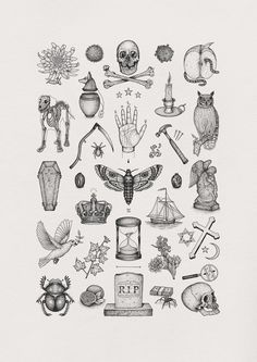 Illustration by Bradley Jay - Image of 'Das Allerletzte' Limited Edition Giclée Fine Art Print Labirintus játék Kunst Tattoos, Body Art Tattoos, Small Tattoos, Tatoos, Girl Leg Tattoos, Ship Tattoos, Portrait Tattoos, Baby Tattoos, Dragon Tattoos