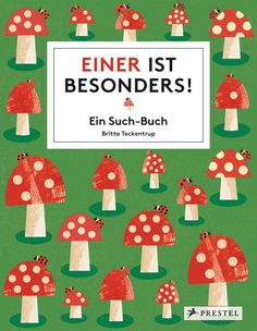 Das neue Rätsel-Such-Buch von Britta Teckentrup ist im Prestel Verlag erschienen. Bilderbuch Rezension von @juliliest