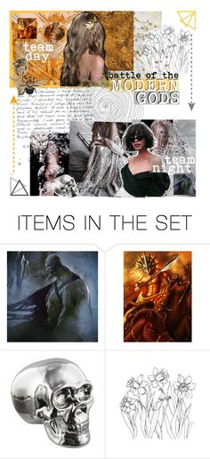 """""""Modern Gods // Audition"""" by lola-twfanmily ❤ liked on Polyvore featuring art, modern and moderngods"""