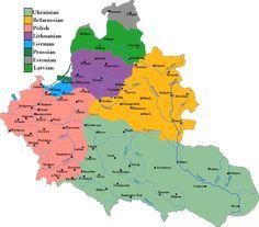 ポーランドリトアニア共和国 Poland Map, Central States, Old Maps, Historical Maps, Cartography, Art History, Planer, Diagram, Deviantart