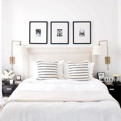 Fabulous White Bedroom Design In The Small Apartment 47 Romantic Bedroom Decor, Home Decor Bedroom, Bedroom Furniture, Kids Bedroom, Bedroom Rustic, Bedroom Plants, Wood Bedroom, Couple Bedroom Decor, Classy Bedroom Ideas