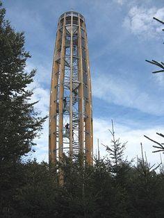 Kelčský Javorník - rozhledna Lookout Tower, Central Europe, Treehouse, Czech Republic, Prague, Poland, Travelling, Germany, Adventure