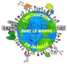 L'instruction en famille dans le monde, site LAIA.