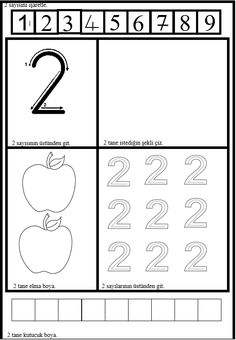 Tracing Practice Preschool, Preschool Learning Activities, Teaching Kindergarten, Classroom Activities, Preschool Activities, Grade R Worksheets, Music Theory Worksheets, Kids Math Worksheets, Numbers Preschool