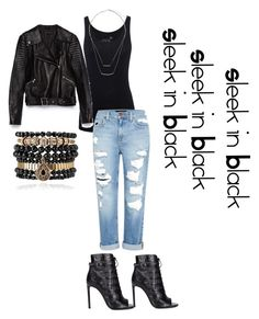 A fashion look from August 2015 featuring Juvia tops, Zara jackets and Genetic Denim jeans. Browse and shop related looks. Mom Outfits, Night Outfits, Summer Outfits, Fashion Outfits, Black Outfits, Fashion Trends, Concert Outfit Summer, Concert Outfits, Drake Concert