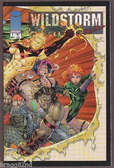 1994 Image Comics WILDSTORM RARITIES Squarebound Comic Book