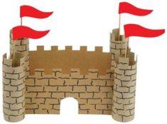 kasteel muren wc rollen