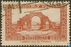 Algeria - Triumphal Arch of Lambèse 1936