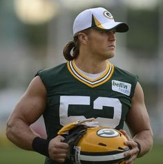 Green Bay Packers linebacker Clay Matthews during training camp practice at Ray Nitschke Field on Friday, July 26, 2013. Evan Siegle/Press-Gazette Media