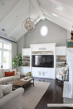 Fall family room tour and 30 tips for fabulous Fall decorating! (Sunny Side Up)