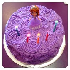 Sofia the First Birthday Cake - Lily