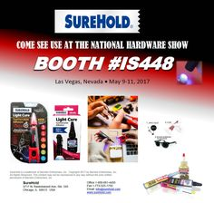 See us at the National Hardware Show