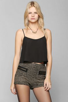 Ladakh Sparkle Tweed Short #UrbanOutfitters