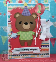 Fantabulous Cricut Challenge Blog: Fantabulous Friday at FCCB-Birthday Celebration with a candle