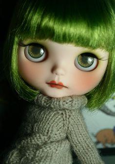OOAK Custom Blythe Doll Mela by Little Miss no Name