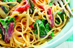 Fideos and Chard