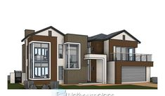 Modern house designs plans for a 4 bedroom home is for sale online. Browse our collection of floor plans with photos and modify any plan to suit your needs. Tuscan House Plans, Luxury House Plans, Dream House Plans, House Floor Plans, 6 Bedroom House Plans, 4 Bedroom House Designs, Modern Small House Design, Contemporary House Plans, Double Storey House Plans