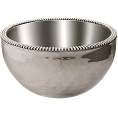 """Alan Lee Collection Hammered 6"""" Angle Bowl"""