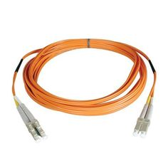 Tripp Lite N320-10M Duplex Multimode 62.5/125 Fiber Optic Patch Cable LC/LC - 10M (33feet) by Tripp Lite. $26.00. From the Manufacturer                 Don't settle for less than the best—enjoy better signal quality and faster transmission! Tripp Lite's N320-Series fiber cables assure peak performance throughout your local area network application. Unlike cut-price cables, the N320-Series is manufactured to exacting specifications, using superior materials, for a difference you...