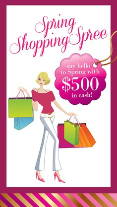 $500 Spring Shopping Spree Giveaway