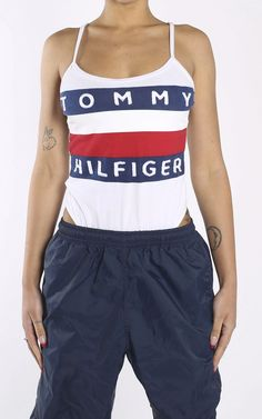 TOMMY HILFIGER - Frankie Collective Vintage Shops, Tommy Hilfiger, Gym Shorts Womens, Fashion Outfits, Swimwear, Shopping, Collection, Bathing Suits, Fashion Suits