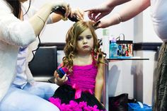 Sparkle baby, a beauty pageant in Sydney, Australia. Photograph: Chloe Bartram