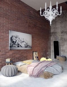 We're taking it back to basics with a mattress on the floor and things never looked better How to work this look Opt for luxurious linen that completely covers any hint of mattress Create some height with Euro cushions and throw pillows Add a pop of colour with a throw Anchor the bed with a …