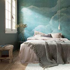 Het Cloud behang van vtwonen laat je heerlijk wegdromen!