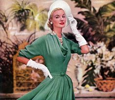 Simplicity Spring Pattern Book 1953 - Model Sunny Harnett, photo...