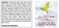 """Should a bag of chips with ingredient list 14 lines long, contains partially hydrogenated oil and Red 40 lake, Yellow 6 lake, Yellow 6, and Yellow 5 be allowed to carry a """"made with all natural oil"""" label? via HealthCastle.com"""