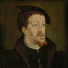 c. 1530 -manner of Jan Cornelisz Vermeyen,  Portrait of Charles V, Holy Roman Emperor,  Rijksmuseum