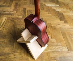 I designed this guitar stand to be universal and really simple: no glue no screws no nails just one piece of wood.In this case I used a board of oak wood, 25mm...