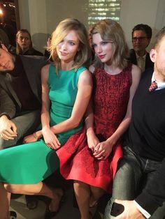 Taylor Swift & Karlie Kloss Match at Oscar de la Renta