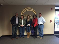 From left to right: Patrick Priest (CIRSA CFO), Jill Padbury (CIRSA's Underwriting Manager), Amanda Benjamin (CU student), Harriet Davis (CU student), and Greg Barlow (CIRSA's Loss Control Manager)