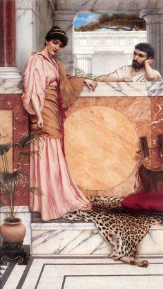 Resultado de imagem para the old story prerafaelite