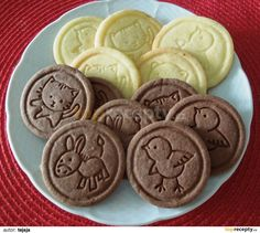 Baking Recipes, Snack Recipes, Dessert Recipes, Snacks, Christmas Baking, Christmas Cookies, Czech Recipes, Galletas Cookies, Nutella