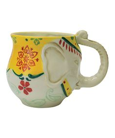 Loving this Elephant Mug on #zulily! #zulilyfinds