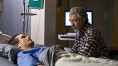 10 x 17 It's Penultimate Episode Time - Heartland Jack watching and talking to Ty the Grandson-in-law he loves