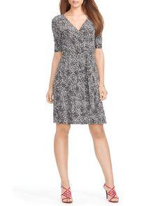 Lauren Ralph Lauren Dress - Printed Wrap