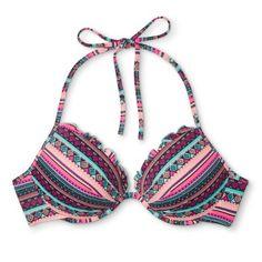 Women's Shore Light Lift Bikini Top - Shade & Shore Stripe 36DDD, Multicolored
