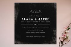 After Sunset Wedding Invitations by Kristen Smith   Minted