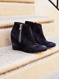 Orlanda Zip Wedge Boot