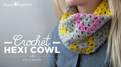 How to Crochet a Hexi Cowl with Cal Patch on Vimeo