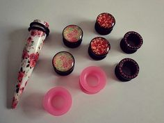 Tapper, Plugs, Gauges, stretched ears