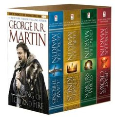 A Game of Thrones   Excellent Books by George R.R. Martin   Don't be put off by their size -   HBO series of same name follows very closely ..