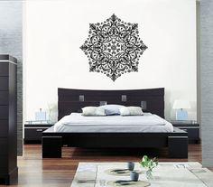 ik363-Wall-Decal-Sticker-mandala-hamsa-hand-Buddha-Hindu-Hinduism-Ornament