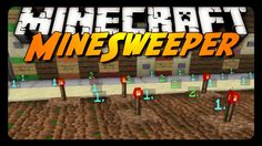Minecraft: MINESWEEPER w/ REDSTONE! (Downloadable Mini-Game)