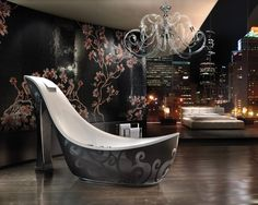 """""""Audrey Shoe"""" bathtubs created by Massimiliano della Monaca - Five outstanding bathtubs that will completely transform your bathroom"""